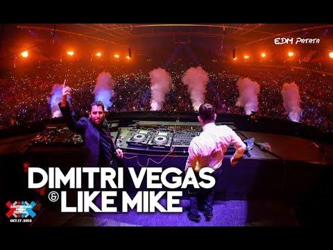 Dimitri Vegas & Like Mike [Drops Only] @ AMF 2015 - DJ Mag Top 100 DJs Awards | Throwback Thursday