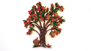 Quilling Trees/Træ/Baum/Arbre DIY
