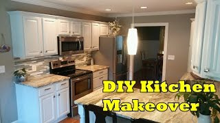 DIY Kitchen Makeover Cheap and Easy - OurHouse DIY