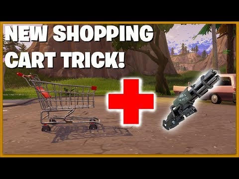 New Shopping Cart TRICK! Double Your Speed! ( Tips and Tricks )