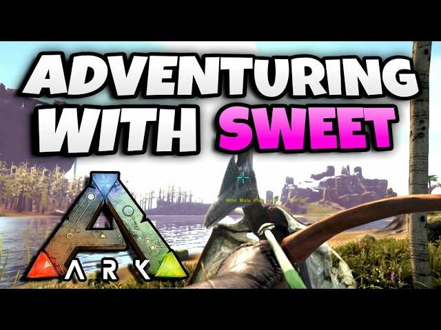 Adventuring on Ark Survival With A Girl! (Ark Survival Evolved Funny Moments)