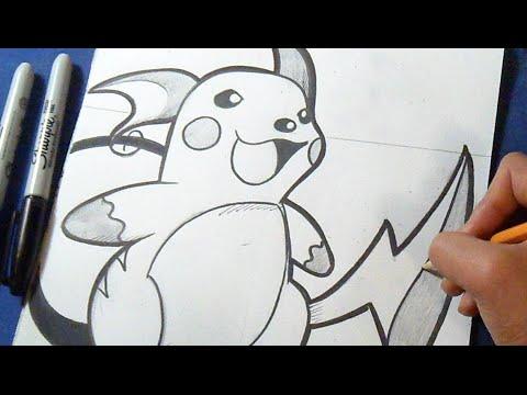 Como Desenhar Raichu Pokemon Youtube