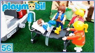 Excursión a la granja de Ponis!!! Pablo tiene un accidente... Playmobil 56
