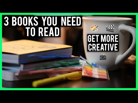 3 Books EVERY Creative Should Read!
