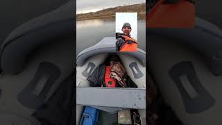 Осенняя рыбалка на реке Белой с лодки