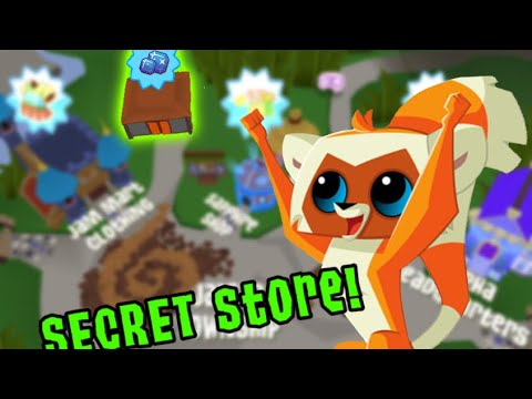 How To Find The SECRET Shop In Animal Jam!