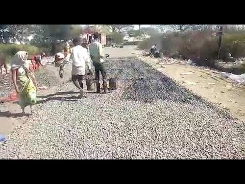 WBM ( water bound macadam) road construction procedure video  pwd civil  engineering videos 2019 new