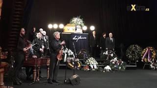 Poslední rozloučení s hereckou legendou Luďkem Munzarem