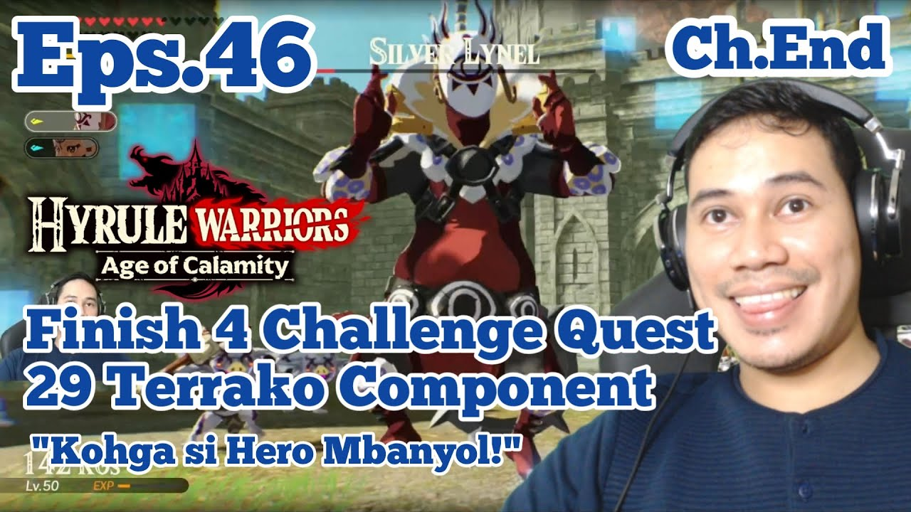 Part 47 Finish 5 Challenges Hyrule Warriors Age Of Calamity Indonesia Walkthrough 1080p 60fps Youtube