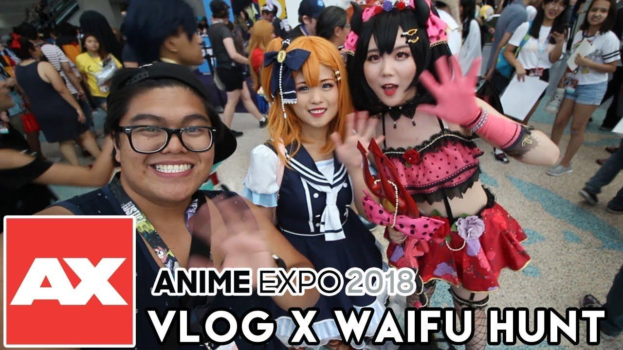 So Many Waifus Anime Expo 2018 Vlog X Waifu Hunt Youtube