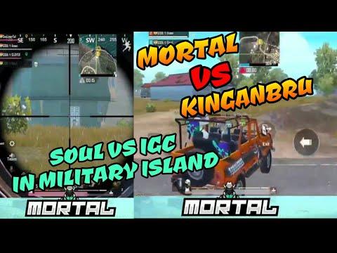 Mortal vs Kinganbru, Soul vs Igc clan fight in military island classic match pubg mobile
