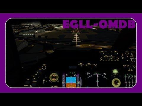 [P3D] BAW105 | Heathrow-Dubai | PMDG 747-400 QOTS |