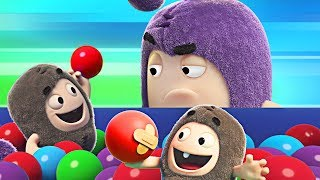 Oddbods | Ball Pit Madness | Funny Cartoons for Children | Oddbods & Friends