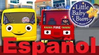 Las ruedas del autobús | Parte 11 | Canciones infantiles | LittleBabyBum