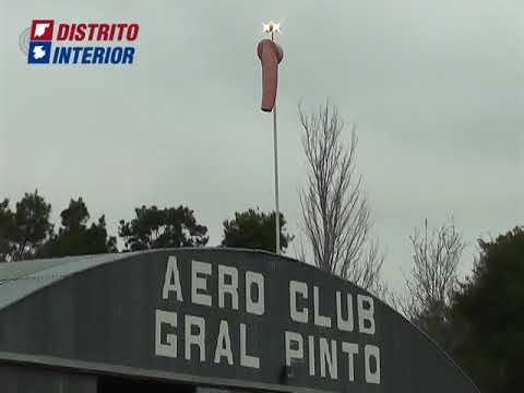 Alan Gomez y Guillermo Puerari sobre el aero club de General Villegas