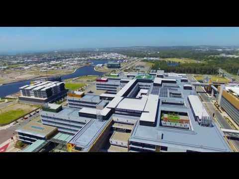 Sunshine Coast University Hospital Fly-through, November 2016