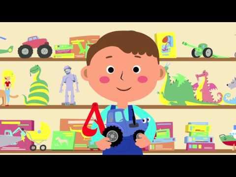 Kinderlieder - Traktor. Das Lied eines Traktor-Fans.