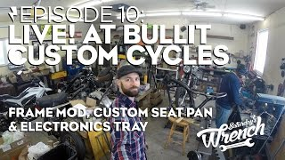 Saturday's Wrench Ep.10: Honda Cb350 Build - Live! At Bullit Custom Cycles