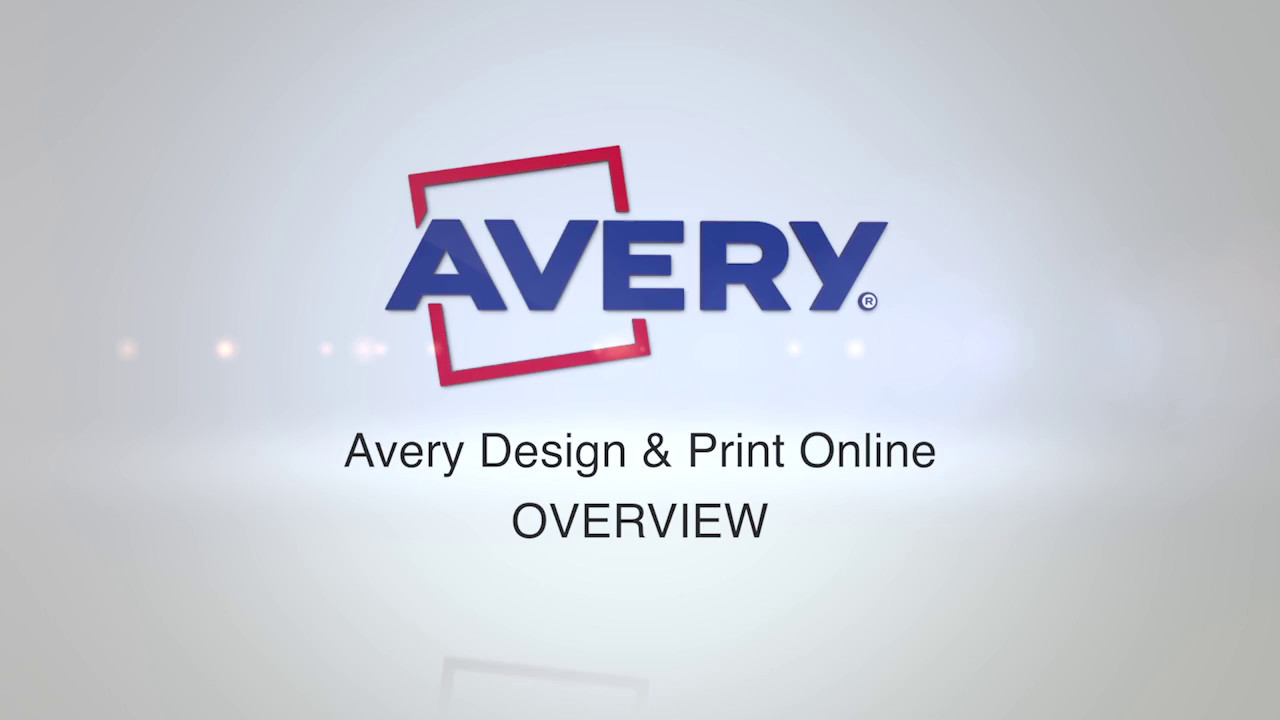 Avery design print an introduction youtube avery design print an introduction saigontimesfo
