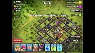 PUSH TO 4.000 trophies with BARCH - english - clash of clans - liveraid #1