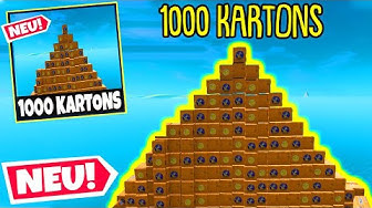 1000 KARTONS, ABER nur 1 RICHTIGER in Season 2!