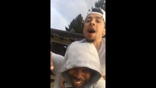 dappy live on periscope with big hypes new music