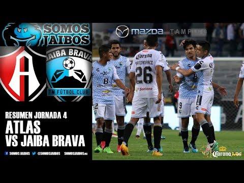 Resumen J4 Atlas FC vs Jaiba Brava - Copa Mx