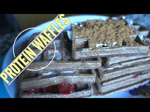 Chocolate Protein Waffles Recipe – Good Pre Workout Meal