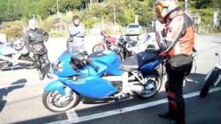 地元バイク乗りのメッカ「正丸駅朝の風景」2009 10 18 イニシャルDで有...