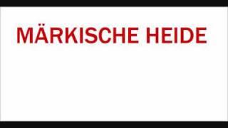 Märkische Heide , uralter Titel Macht &  ( und ) Ehre
