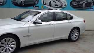 BMWアクティブハイブリッド7 ミネラルホワイト 2012y正規ディーラー車 「原価販売.com」