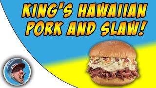 Firehouse Subs King' Hawaiian Pork And Slaw! - Food Review!