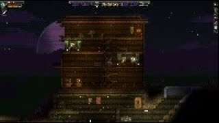 Starbound museum. (time lapse)