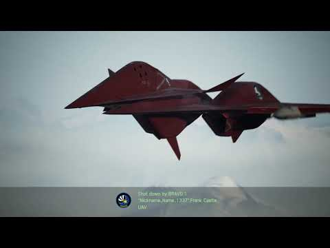 Ace Combat 7 - Flying Against A Raven Hacker With Infinite Drones