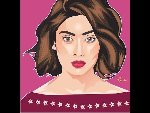 Vector Art Mehazabien Part-2 | Cartoon Effect | Adobe Illustrator Tutorial | Digital Portrait Art thumbnail