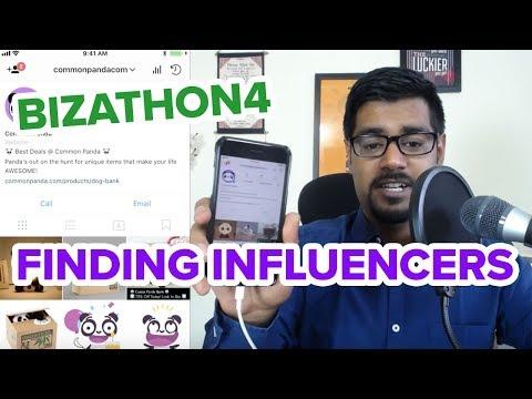 FINDING INFLUENCERS FOR SHOUT MARKETING (Bizathon4 Ep5)