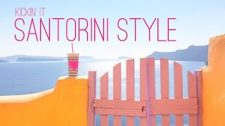 KICKIN IT SANTORINI STYLE! Video Guide Travel to Oia Greece(Santorini is so beautiful and we can't wait to share it with you in this video guide! If you're thinking of travelling to Oia, Santorini then this video is for you!, 2015-12-04T07:30:00.000Z)