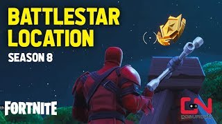 Fortnite Season 8 - Secret Battlestar Location - Discovery Challenges - Week 1