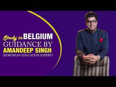 Study in Belgium Guidance by Amandeep Singh (European Education Expert)