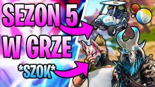 SEASON 5 IN FORTNITE PRESENTATION! * NEW SKINS, NEW MAP, GOLF CART *