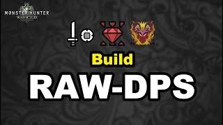 "[FR] Build ""Raw-DPS"" Epée bouclier || Expert || MHW (Monster Hunter World)"