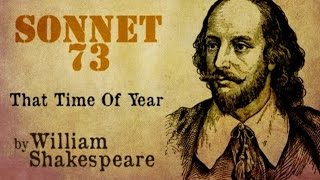 William Shakespeare - Sonnet 73 - That Time Of Year - Poetry Reading