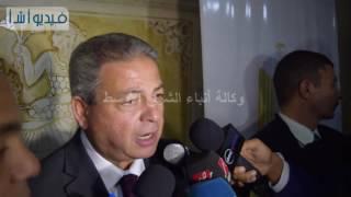 بالفيديو : وزير الرياضة: لابد لكل اتحاد آن يلجأ الى وسائل جديدة من اجل زيادة موارده المالية