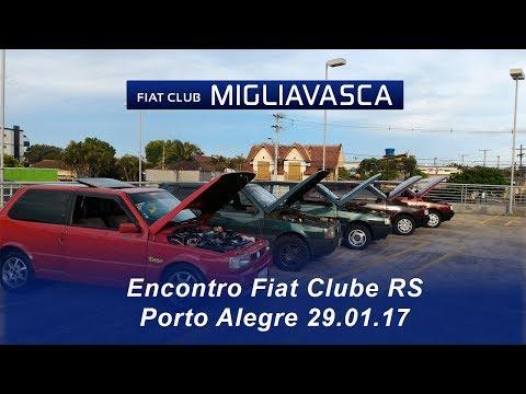Encontro Fiat Clube - RS Porto Alegre 29.01.17