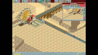 RollerCoaster Tycoon Loopy Landscapes - Arid Heights Gameplay [1]