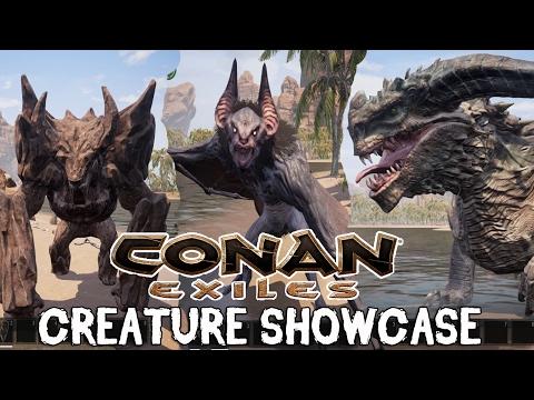Conan Exiles Creature Showcase