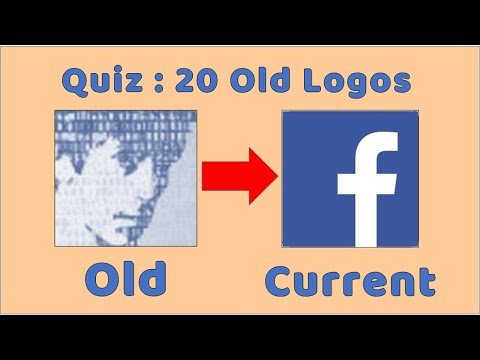 Old Logos Quiz : Can You Name The Brands From Their Old Logos ?