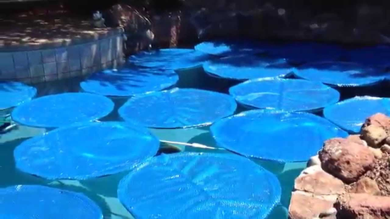Homemade Swimming Pool Solar Rings From Youtube