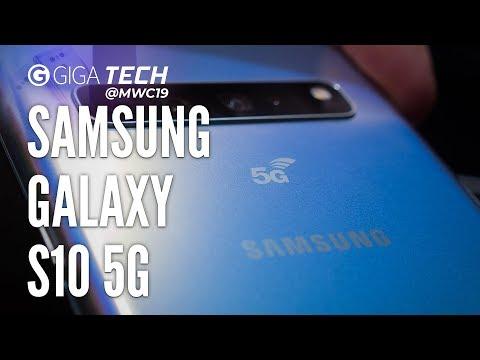 SAMSUNG GALAXY S10 5G Hands-On (deutsch): Verzückt in die Zukunft? – GIGA.DE