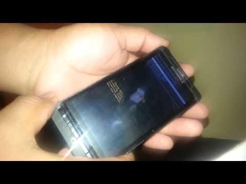 Como desbloquear Pantalla Motorola Droid X MB810